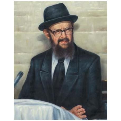 Rabbi Miller 3 | Jewish Art Oil Painting Gallery