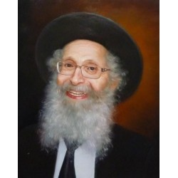 Rabbi Finkel 2 | Jewish Art Oil Painting Gallery