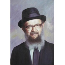 Rabbi Miller | Jewish Art Oil Painting Gallery