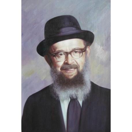 Rabbi Miller | Jewish Art Oil Painting Gallery