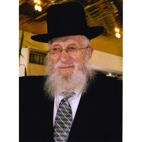Rabbi Chaim Pinchus Scheinberg | Jewish Art Oil Painting Gallery