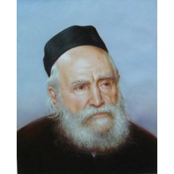 Reb Moshe Feinstein 2 | Jewish Art Oil Painting Gallery