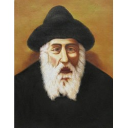 Shtefinisht Rebbe | Jewish Art Oil Painting Gallery