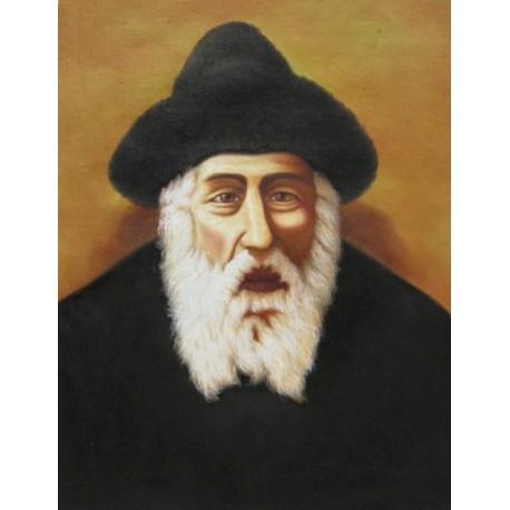 Shtefinisht Rebbe   Jewish Art Oil Painting Gallery