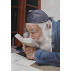 The Steipler Rav 3 | Jewish Art Oil Painting Gallery