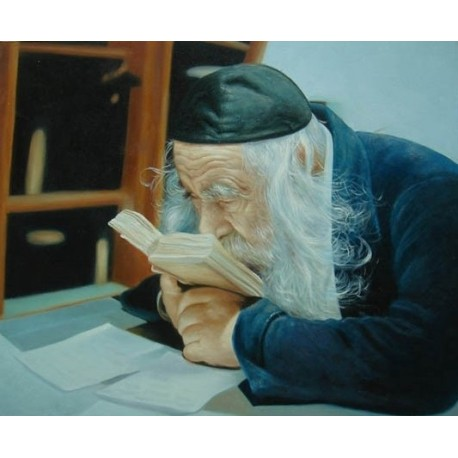 The Steipler 2 | Jewish Art Oil Painting Gallery