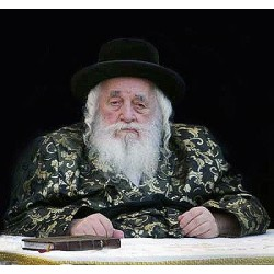 Viznicher Rebbe 2 | Jewish Art Oil Painting Gallery