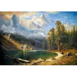 Mount Corcoran by Albert Bierstadt oil painting art gallery
