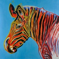 Zebra Posters by Andy Warhol oil painting art gallery