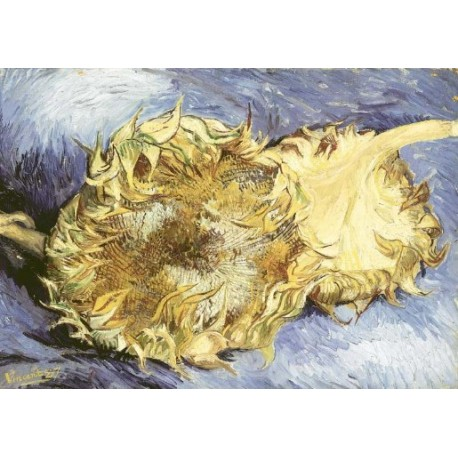 Sunflowers 2 by Vincent Van Gogh - Art gallery oil painting reproductions