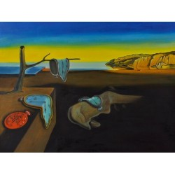 The Persistence of Memory by Salvador Dali oil painting art gallery