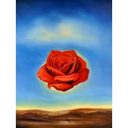 Rose Meditative by Salvador Dali oil painting art gallery