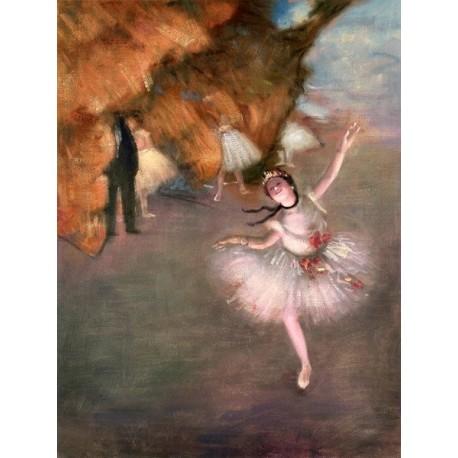 Ballet Dancer by Edgar Degas oil painting art gallery