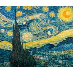 The Starry Night by Vincent van Gogh oil painting art gallery