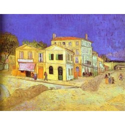 Vincent House in Arles by Vincent Van Gogh - Art gallery oil painting reproductions