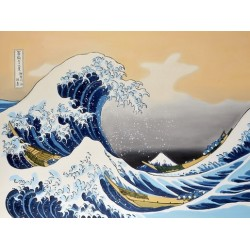 The great wave off kanagawa by Hokusai Katsushika oil painting art gallery