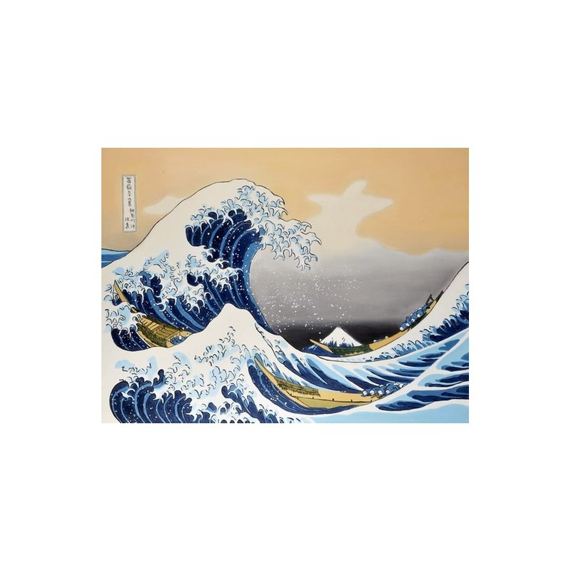 an analysis of katsushika hokusais popular painting the great wave Katsushika hokusai the creator of the great wave off kanagawa  japanese  artist, ukiyo-e painter, and printmaker katsushika hokusai went by more  lead  him to create some of his most famous works he's known for today.
