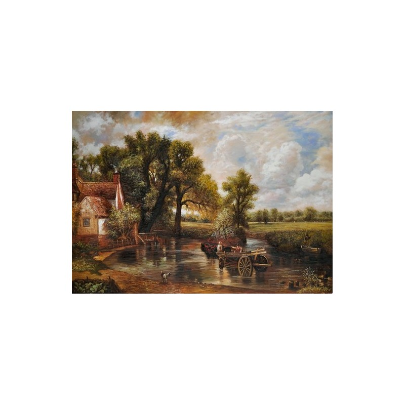 john constable s the haywain John constable paintings for sale and art such as the haywain, the white horse, landscape of his oil painting reproduction on canvas read bio and buy constable paintings hay wain.