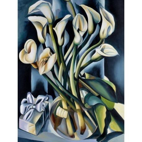 Arums I by Tamara de Lempicka oil painting art gallery