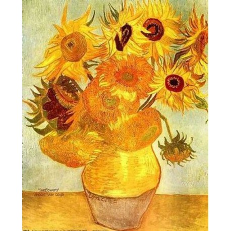Sunflowers by Vincent Van Gogh - Art gallery oil painting reproductions