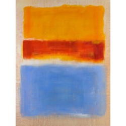 Yellow Red Blue by Mark Rothko oil painting art gallery
