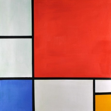 Composition with Red Blue Yellow by Piet Cornelies Mondrian oil painting art gallery