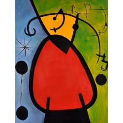 Daybreak by Joan Miro oil painting art gallery