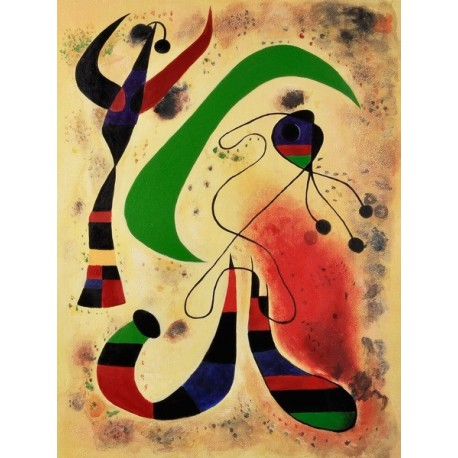 Night by Joan Miro oil painting art gallery