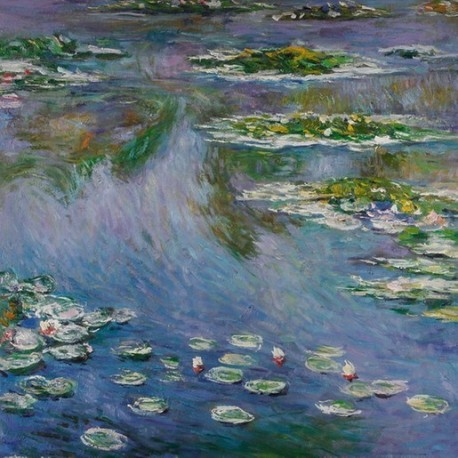 Water Lilies by Claude Monet - oil painting art gallery
