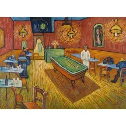 The All Night Cafe 1888 by Vincent Van Gogh - Art gallery oil painting reproductions
