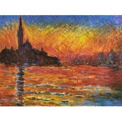 Saint Georges Majeur Au Puscule by Claude Monet - oil painting art gallery
