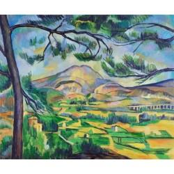 Ile de France Landscape, 1879-1880 by Paul Cezanne -oil painting art gallery