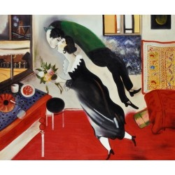 Birthday by Marc Chagall - oil painting art gallery