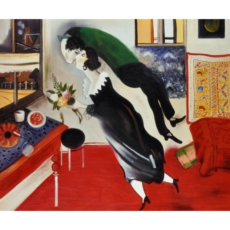 Birthday By Marc Chagall Oil Painting Art Gallery
