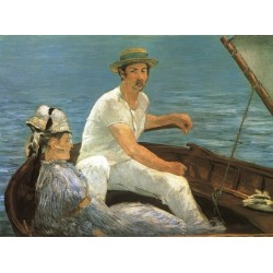 Boating By Edouard Manet - Art gallery oil painting reproductions