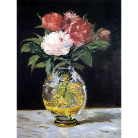 Bouquet of Flowers by Edouard Manet - Art gallery oil painting reproductions