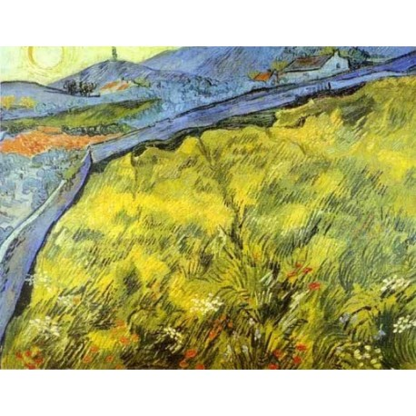 Wheat Field by Vincent Van Gogh - Art gallery oil painting reproductions