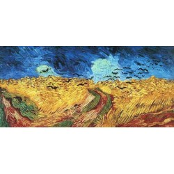 Wheatfield with Crows by Vincent Van Gogh - Art gallery oil painting reproductions