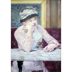 Plum Brandy 1877 By Edouard Manet - Art gallery oil painting reproductions