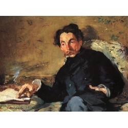 Portrait of Stephane Mallarme Musee d'Orsay 1876 By Edouard Manet - Art gallery oil painting reproductions