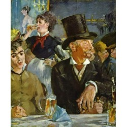 The Cafe Concert 1878 By Edouard Manet - Art gallery oil painting reproductions
