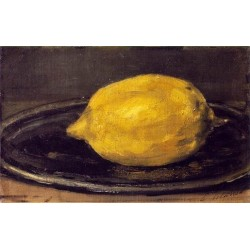 The Lemon 1880 By Edouard Manet - Art gallery oil painting reproductions