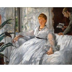 The Reading 1869 By Edouard Manet - Art gallery oil painting reproductions
