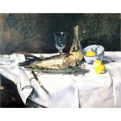 The Salmon By Edouard Manet - Art gallery oil painting reproductions