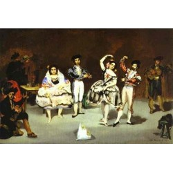 The Spanish Ballet 1862 By Edouard Manet - Art gallery oil painting reproductions