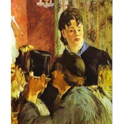 The Waitress 1879 By Edouard Manet - Art gallery oil painting reproductions