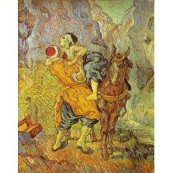 The Good Samaritan by Vincent Van Gogh - Art gallery oil painting reproductions