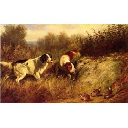 A Close Point By Arthur Fitzwilliam Tait - Art gallery oil painting reproductions