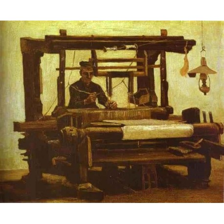 The Loom by Vincent Van Gogh - Art gallery oil painting reproductions