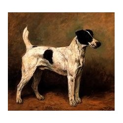 Dog Oil Painting 4 - Art Gallery Oil Painting reproductions